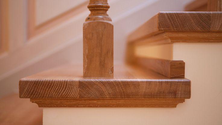 Villa Lake Maggiore – Wooden stairs by Roncoroni Moretti