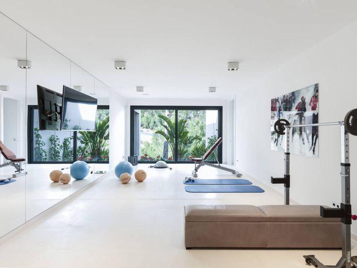 casa sv ii gimnasios domsticos de estilo minimalista de rm