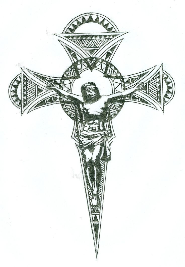 Crucifix tattoo design by jinx2304.deviantart.com on @DeviantArt