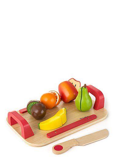 Eichhorn Schneidebrettset Obst (es gibt auch noch Gemüse), EUR 16,99, ab 2 Jahren