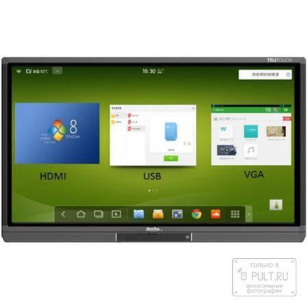 NewLine TruTouch TT-6515B  — 233496 руб. —  Интерактивные панели NewLine Интерактивные панели NewLine – это не просто большой монитор от одного из лидеров индустрии с возможностью взаимодействия с происходящим на экране, а устройство всё-в-одном, включающее в себя защищенный дисплей размером 55, 65, 70, 80 или 84 дюйма, встроенное ПО на базе Android, два динамика мощностью 15 Вт каждый и большое количество разъемов для подключения внешних источников.  Размер для любого помещения Линейка…
