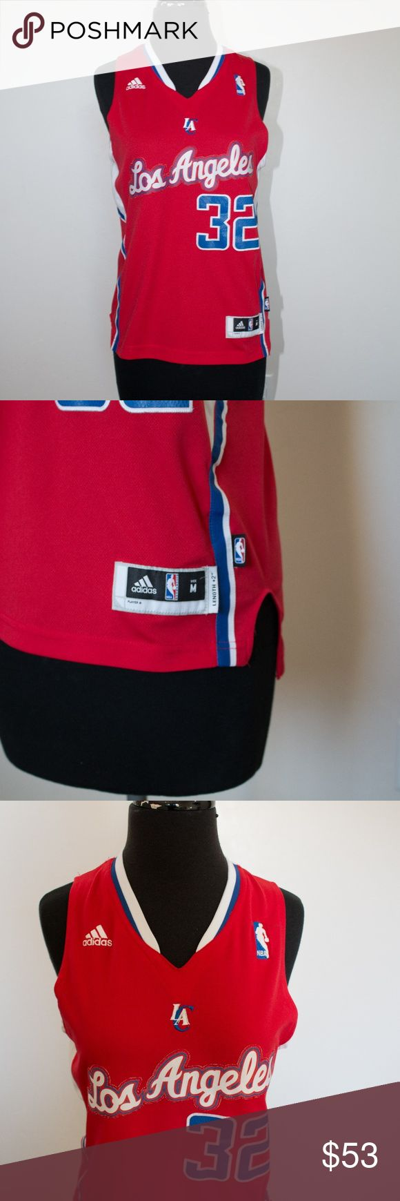 Adidas Blake Griffin LA Clippers Swingman Jersey BLAKE GRIFFIN JERSEY  Adidas : LA Clippers This is a ++2 length in a size Medium  Condition - EXCELLENT Freshly Washed No rips, holes, or tears Smoke Free Home adidas Shirts Tank Tops