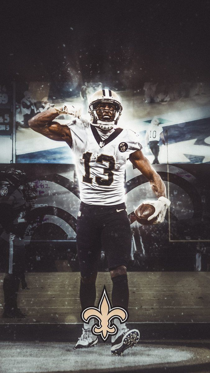 Michael Thomas New Orleans Saints Football Nfl Football Art Nfl Saints