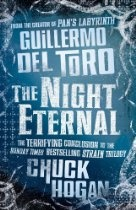 The Night Eternal (Strain Trilogy 3)  By Chuck Hogan, Guillermo del Toro (Kindle) - The nail-biting vampire thriller from the world-famous director of Pan's Labyrinth and Hellboy.  The night belongs to them, and it will be a night eternal…  After the blasts, it was all over. Nuclear Winter has settled upon the earth. Except for one hour of sunlight a day, the whole world is plunged into darkness. It is a near-perfect environment for vampires. They have won. It is their time.