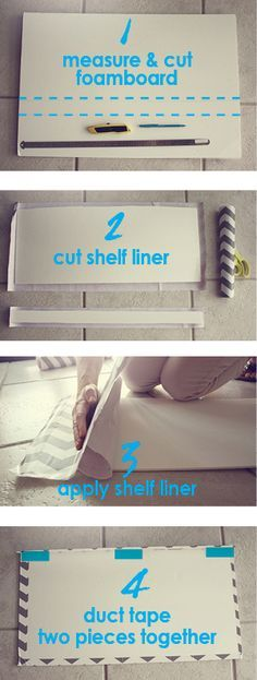 How to makeover kitchen, bathroom and closet wire shelves