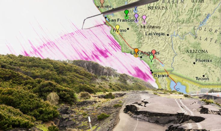 #California #braced for BIG ONE as San #Andreas fault wakes...