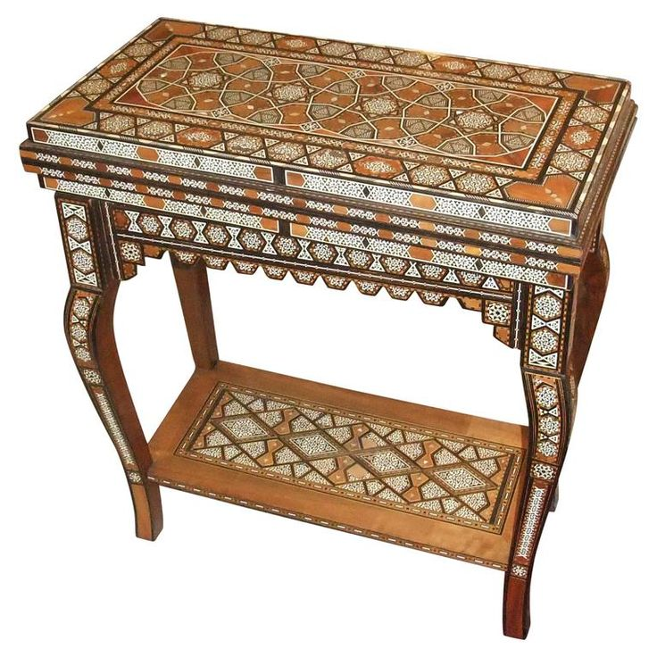 Damascus Games Table | From A Unique Collection Of Antique And Modern Game  Tables At Https