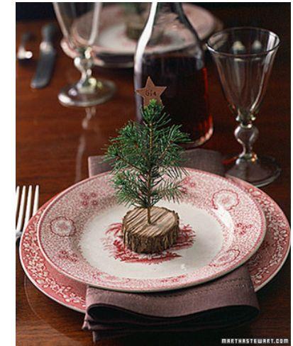 christmas charm via Martha Stewart