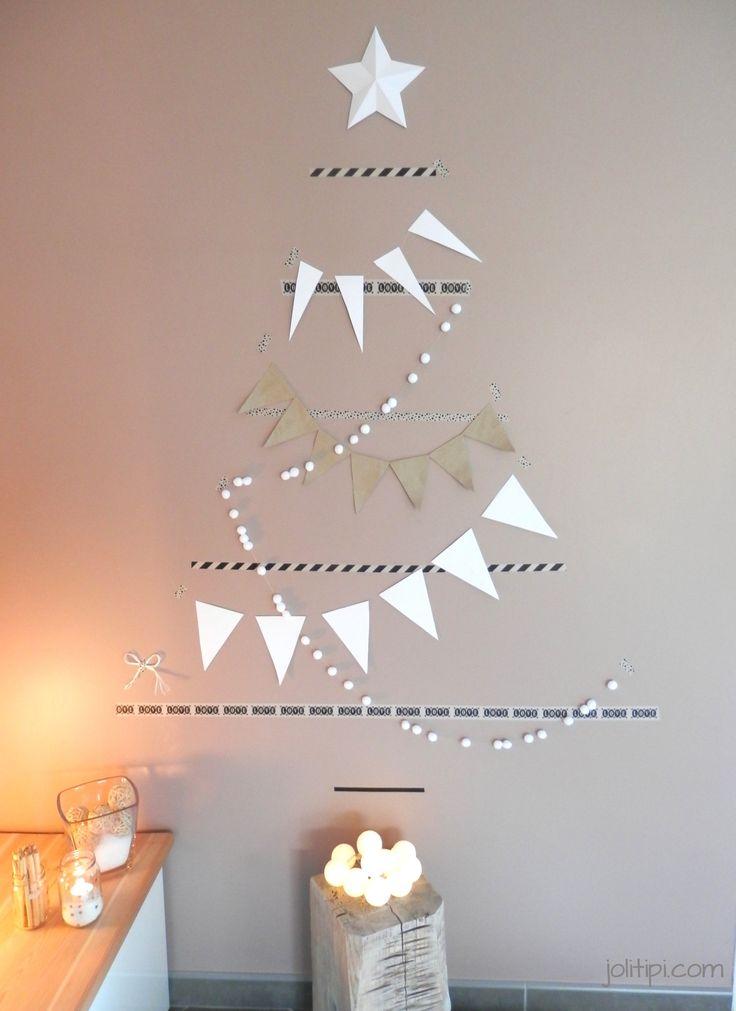17 meilleures id es propos de arbres de no l de papier - Comment decorer son sapin de noel ...