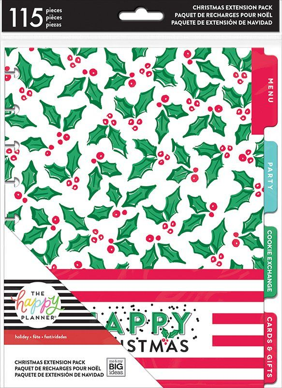 Happy Planner Christmas 2020 Me and My Big Ideas Happy Planner Christmas Planner Extension Pack
