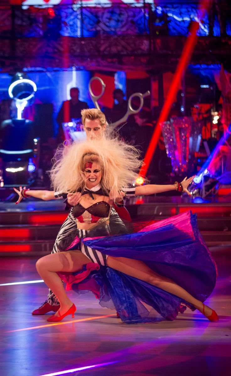 Strictly Come Dancing 2014: Week 6 - Halloween - Pixie Lott and Trent Whiddon