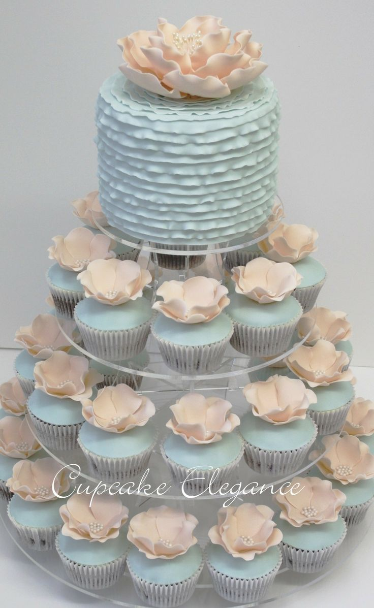 elegant wedding cupcake designs images galleries with a bite. Black Bedroom Furniture Sets. Home Design Ideas
