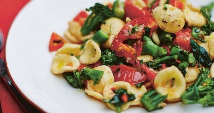 I grew up eating orecchiette, the typical pasta shape of Puglia. The name translates as 'little ears', which is exactly what the shape resembles. Italian grandmothers traditionally make the pasta by hand, shaping it while having a good old chat. The hollow in the little ears perfectly entraps whatever sauce they are served with.