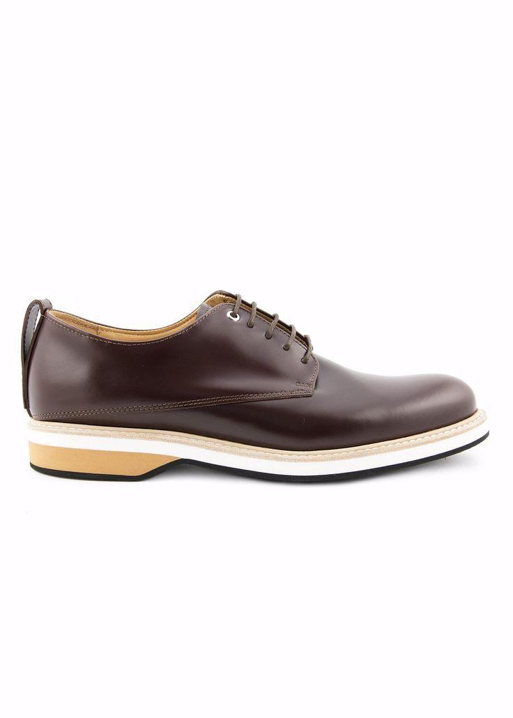 Want Les Essentiels - SS17 - Menswear // Brown Montoro derby shoes