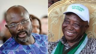 Liberia election run-off: George Weah versus Joseph Boakai