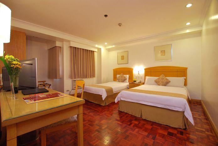 Deluxe Room of City Garden Suites Manila <3  #deluxeroom #hotel #accomodation [www.kasal.com]