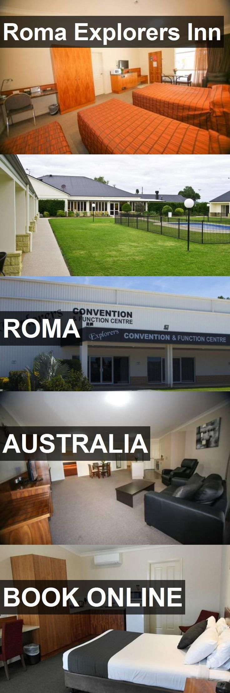 Hotel Roma Explorers Inn in Roma, Australia. For more information, photos, reviews and best prices please follow the link. #Australia #Roma #travel #vacation #hotel
