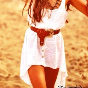 perfect summer dress:): Beach Dresses, Summer Dresses, High Low Dresses, Style, Highlow, Cute Dresses, Coverup, The Dresses, White Dresses