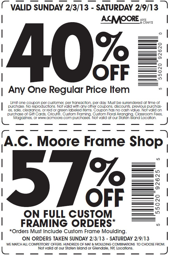 ac moore 40 off printable coupon