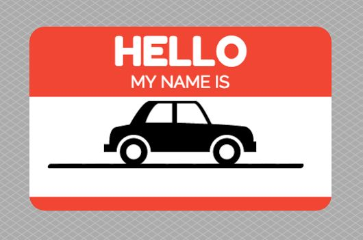 Did you know 50% of vehicle owners name their cars? (70% women / 30% men) October 2nd is National Name your car day #fun #carnews #beepbeep