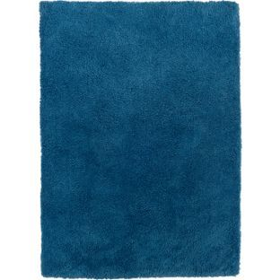 Buy Super Soft Deep Pile Shaggy Rug - 110x170cm - Peacock at Argos.co.uk - Your Online Shop for Rugs and mats. 17.99