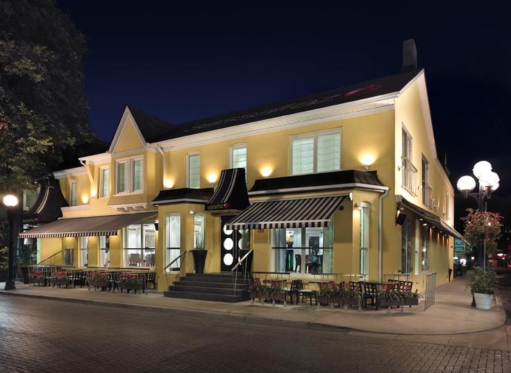 Cafe Sassafraz  Yorkville  Toronto, Ontario