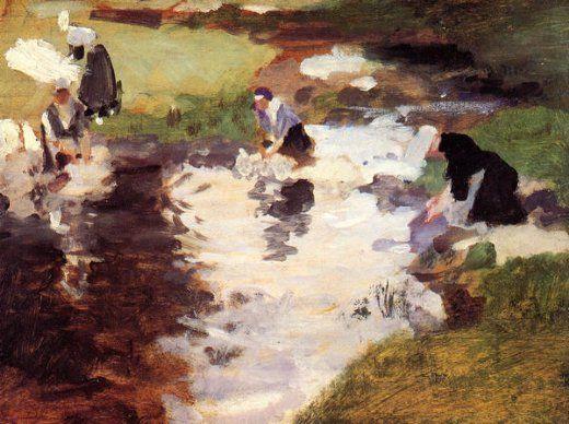 john singer sargent washerwomen paintings