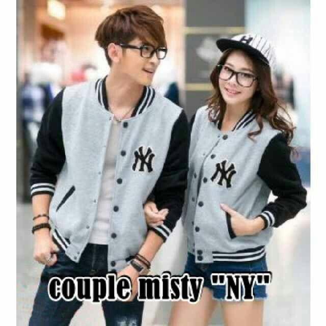 #jaketcouple COUPLE MISTY NY, bahan fleece harga 110k www.ramailancar.com www.facebook.com/tokobajurajutmurah 0857 2212 6318