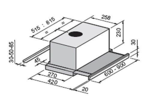 Hotte tiroir Rosieres RHTV680IN - Une hotte performante avec largeur < 30 cm la plus haute gamme de chez DARTY…