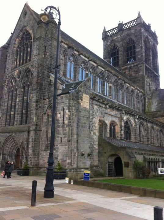 Paisley Abbey in Paisley, Renfrewshire