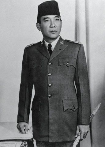 Sukarno of Indonesia