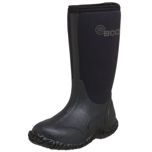"Bogs Classic High Rain Boot (Toddler/Little Kid/Big Kid) Bogs. $44.99. Height: 10"". neoprene. Rubber sole. Constructed with 7mm waterproof Neo-Tech insulation. Comfort rated from temperate to -30°F. Durable hand-lasted rubber over a four way stretch inner bootie. 100% Waterproof"