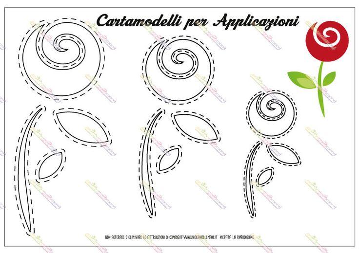 Oltre 25 fantastiche idee su sagoma di un fiore su - Modello di foglia per bambini ...
