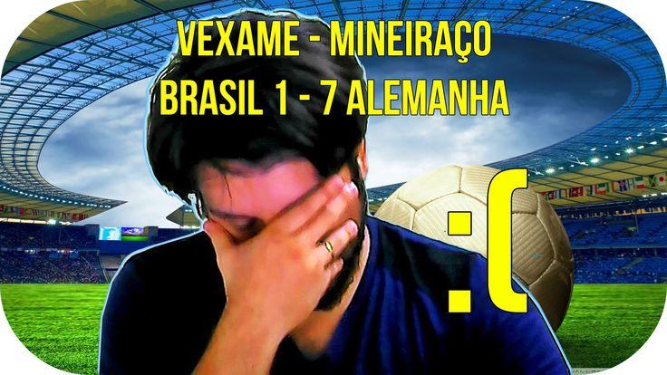 """WINAMICE CHATEADO COM O """"MINEIRAÇO"""" NA COPA DO MUNDO [BRASIL 1 X 7 ALEMA..."""