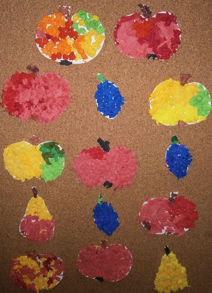 podzimní plody - práce dětí