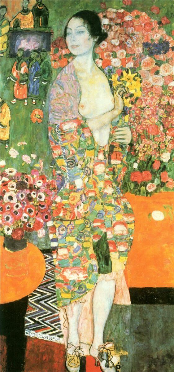 The Dancer, 1916-1918 - Gustav Klimt - WikiArt.org