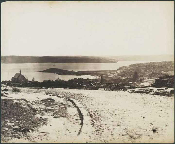 Watsons Bay in 1880.