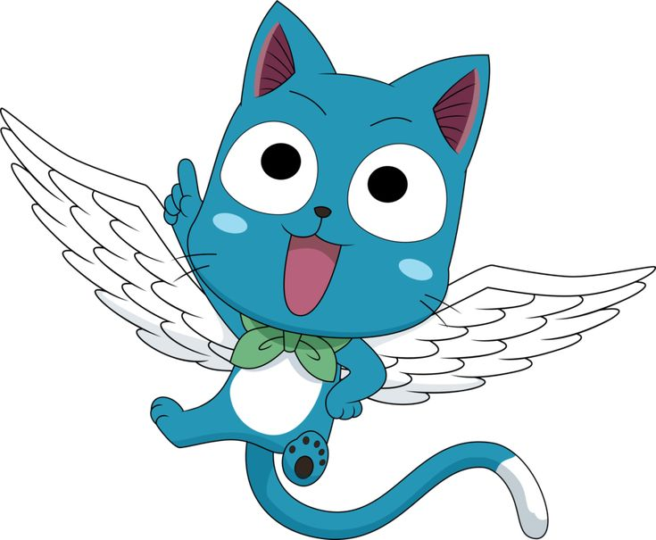 Fairy Tail - Happy! by DaydreamSyndrom.deviantart.com on @deviantART