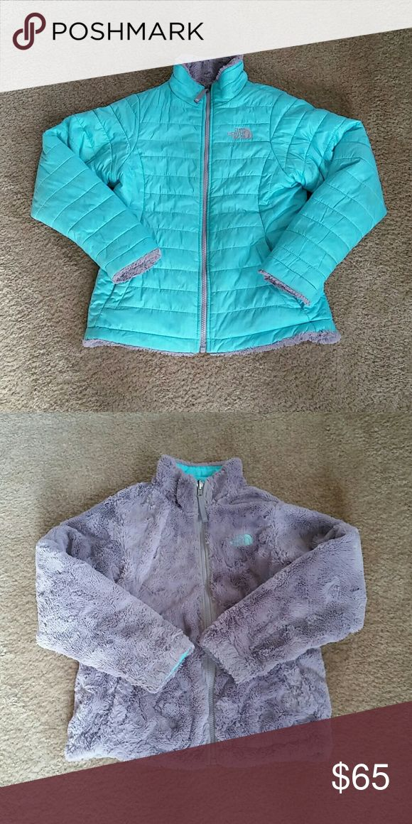 Northface two sided winter coat Can be worn two ways gently worn perfect for winter size 10/12 The North Face Jackets & Coats Puffers