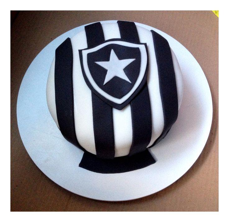 Botafogo Futebol Clube Cake, Brazilian Soccer