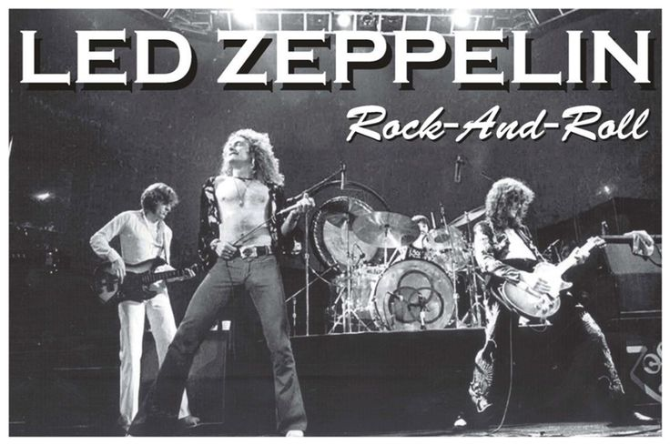 Led Zeppelin Rock and Roll Poster - TshirtNow.net