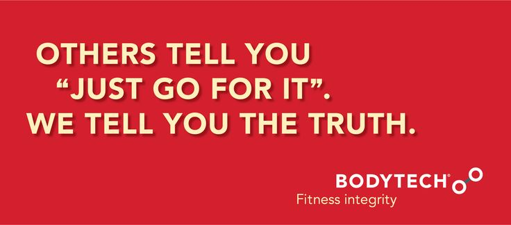 OTHERS TELL YOU: JUST GO FOR IT  Fitness Truths on Strength with BodyTech founder, Peter Rana.
