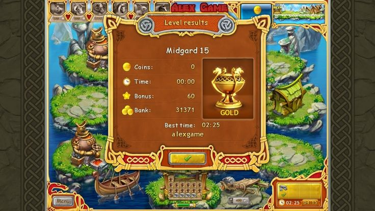 Farm Frenzy Viking Heroes Adventure Midgard 15 GOLD Веселая ферма Викинги Сюжетная Мидгард 15 Золото