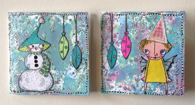 PaperArtsy: 2017 #14 Glitter: Sparkly Cards with ZA {by Chris Cresswell}