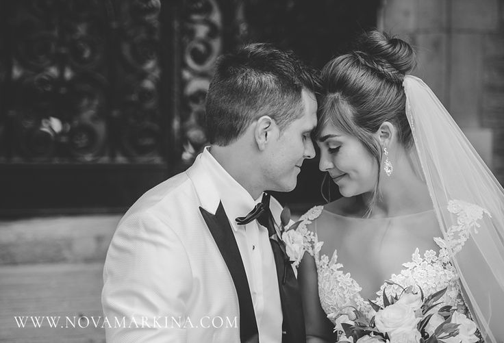 Amorous Newlyweds || Wedding Day Portrait Inspiration || NovaMarkina Photography || See more of this Liuna Station Wedding here: http://www.novamarkina.com/blog/liuna-station-wedding-photography-k-a