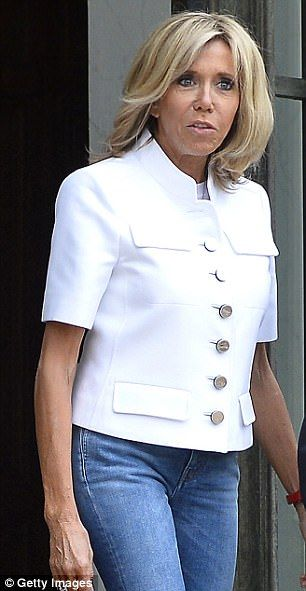 French women. They are thinner than us, chicer than us, and now, thanks to Brigitte Macron (pictured), they are supposedly sexier than us past pensionable age.