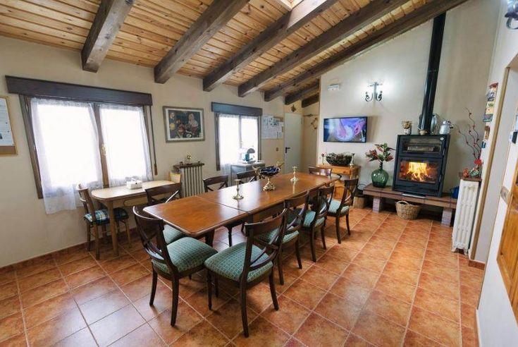 Soria Casa Rural Con Chimenea En San Leonardo De Yagüe Soria Casas Rurales Cuartos De Baño Al Aire Libre Chimeneas
