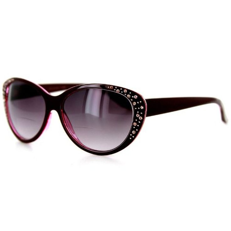Piazza fashion bifocal sunglasses with austrian crystals for Bifocal fishing sunglasses