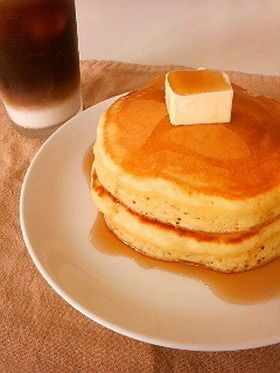 究極のパンケーキレシピ☆表面はサクッ!中はしっと~りふんわ~りのホットケーキ - NAVER まとめ