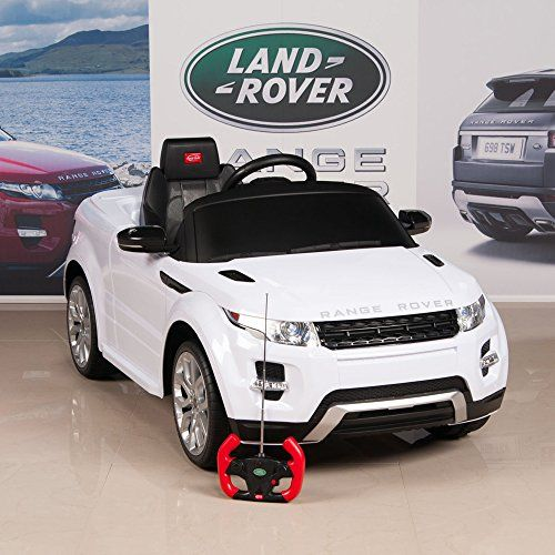 Range rover evoque licensed ride on electric car 12v with parental remote